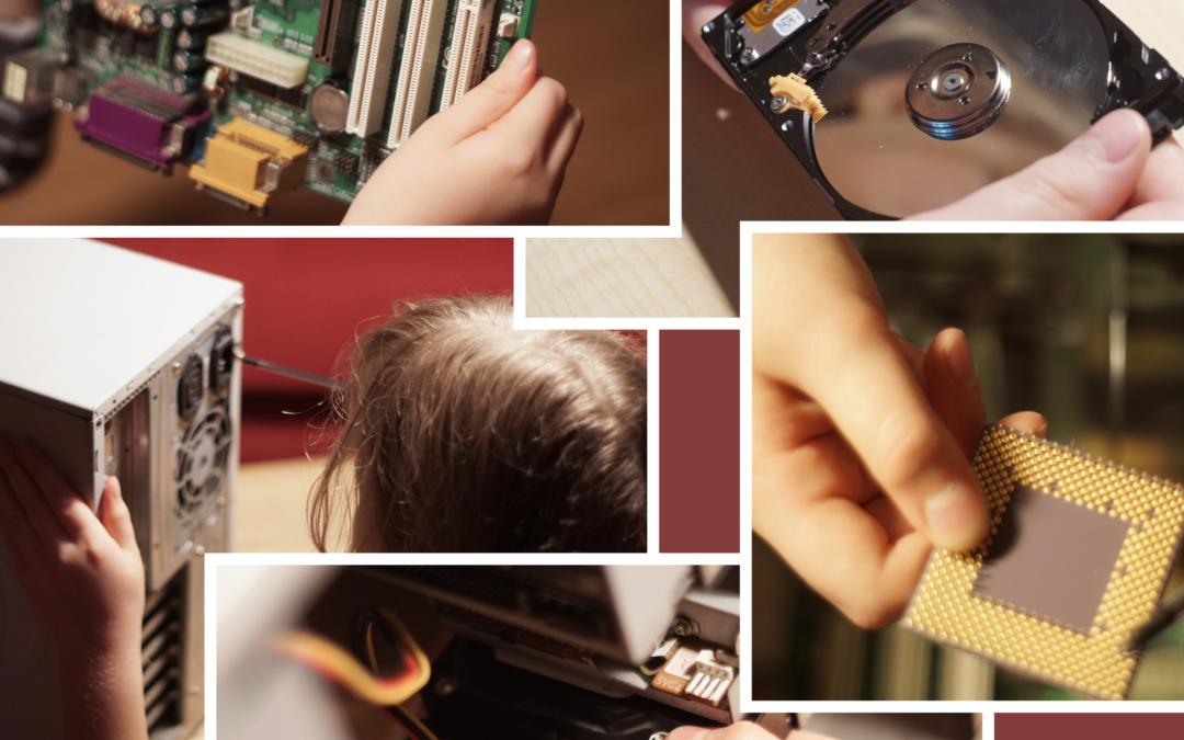 Uczenie informatyki – budowa komputera